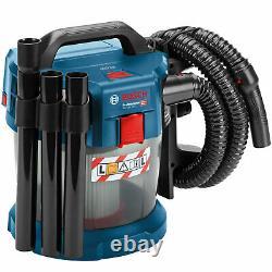 Bosch Gas 18 V-10 L 18v Aspirateur Sans Fil Humide Et Sec Sans Piles
