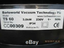 Bvc Ts60 Nettoyant Aspirateur 3 Moteurs 3 Kw Wet + Dry 230 Ou 110v
