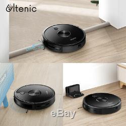 D5s Alexa Robotic Aspirateur Tapis Sol Humide Sec Mopping Électrique Watertank