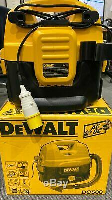 Dewalt Dc500-lx Wet & Dry Aspirateur / Hoover 110v D'utilisation Du Site Seulement