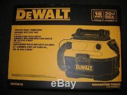 Dewalt Dcv581h 18/20-volt Max Sans Fil / Filaire Wet-dry Aspirateur