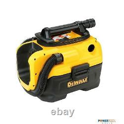Dewalt Dcv584l 18v Xr 7l L-class Wet & Dry Vacuum Body Only