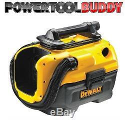 Dewalt Dcv584l Classe Sans Fil Wet / Dry Aspirateur Flexvolt 14,4 / 18v / 54v B15