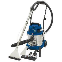 Draper 20l 1500w 230v Humide Shampooing Sec / Aspirateur De Voiture Valeting Machine