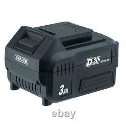 Draper D20 20v Aspirateur Sans Fil Humide Et Sec + Batterie & Chargeur Rapide, 95169