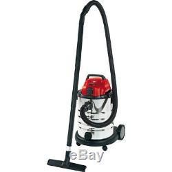 Einhell 30l Wet & Dry Aspirateur Avec Power Tool Take Off 230v
