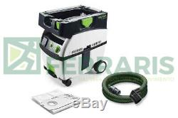 Extracteur Amovible Festool Aspirateur MIDI 575261 Cleantec Garantie 3 Ans