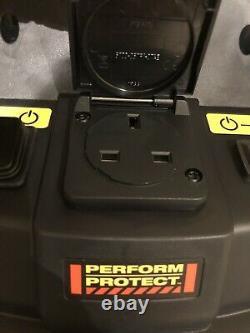 Extracteur De Poussière Humide Et Sèche Dewalt Dwv901 240v 30 Litres Aspirateur 1400 W