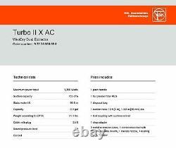 Fein Turbo II X Aspirateur Ac Avec Nettoyage Automatique Du Filtre, Humide / Sec