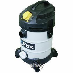 Fox F50-800 Extracteur De Vide Humide Et Sec 240v & 110v, Capacité De 30 Litres