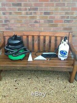 George Numatic Gve370-2 Sec Humide Vaccume Cleaner + Vaporisateur