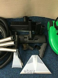 Henry George Wet And Dry Vacuum, 15 Litres, 1060 Watt, Green #206