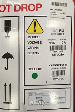 Henry George Wet & Dry Vide 15l Vert Gve 370-2 + kit D'extension A26a 240v Z
