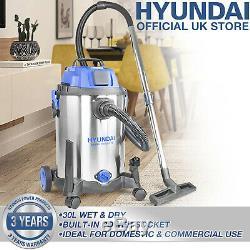 Humide Et Aspirateur Sec Hoover 20l 100l Range Litres Blower Vac 3 En 1 Hyundai