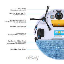 Ilife V5s Pro Nettoyage Robot Aspirateur Machine De Balayage De Sol Sec Et Humide