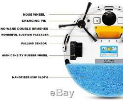 Ilife V5s Robot Aspirateur Nettoyage À Sec Par Voie Humide Balayage Balayage Chargement Automatique