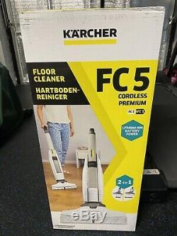 Karcher Fc5 Sans Fil Haut De Gamme Nettoyant Pour Plancher