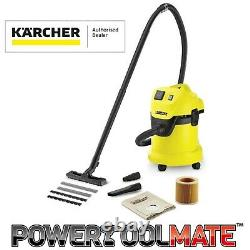 Karcher Karwd3 Wd3 P Aspirateur Humide Et Sec 1000w 240v