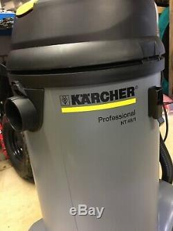 Karcher Nt 48/1 Humides Sec Commercial Aspirateur 14286220 Nouveau Jamais Utilisé