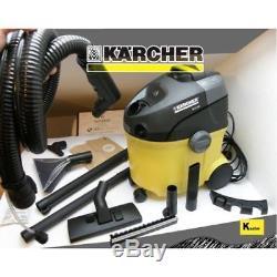 Karcher Se 5.100 Extracteur Au Pistolet, Laveuse À Tapis / Plancher Dur, Aspirateur Pour Déchets Secs Et Humides