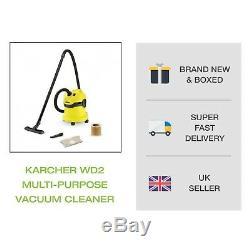 Karcher Wd2 Compact Aspirateur Multi-usage Humide Et Sec Robuste Tout Livraison Gratuite