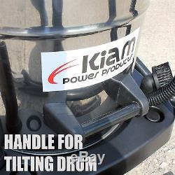 Kiam Gutter Cleaning System Kv100-3, Aspirateur Pour Déchets Secs Et Humides Et Kit De Perche De 12 M (40 Pi)