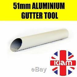 Kiam Gutter Cleaning System Kv100-3, Aspirateur Pour Déchets Secs Et Humides Et Kit De Perche De 20 Pieds, 6 M