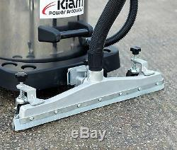 Kiam Kv80-3f 80l 3600w Atelier Entrepôt Sec Humide Aspirateur Sol Raclette