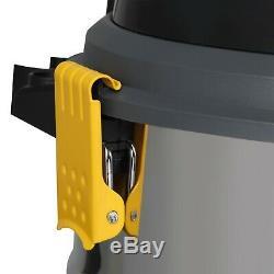 L Class Wet & Dry Aspirateur 30l Industriel Avec Double Filtration Hepa Wd L30