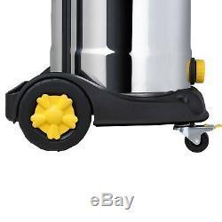 L Class Wet & Dry Aspirateur 38l Industriel Avec Double Filtration Hepa Wd L38