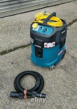 Makita 447m 110v Humide Et Dry Vacuum Dust Dust Dust Vac Tuyau D'commande M Classe Hoover