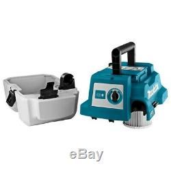 Makita Dvc750lz 18v Brushless Wet & Dry Aspirateur Lxt L Classe Faible Bruit
