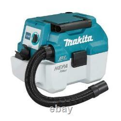 Makita Dvc750lz 18v Lxt Bl 7.5l Classe L Wet/dry Vacuum Cleaner Body Only