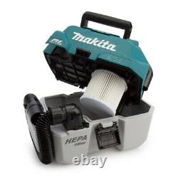 Makita Dvc750lz 18v Lxt Nettoyeur À Vide Sans Brosse + 2 X 6.0ah Batteries
