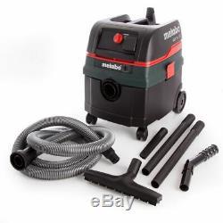 Metabo Asr25lsc Tout Usage 240v Aspirateur Avec Électromagnétique Secouer Et