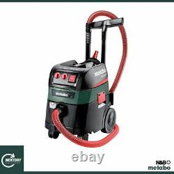 Metabo Asr 35 M 240v, 35ltr, Extracteur D'aspirateur Humide/sec Classe M 602058380