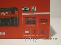 Milwaukee 0880-20 M18 18v 2 Gal. Téléphone Sans Fil Lith-ion Aspirateur Sec / Humide (tool-only) Nisb