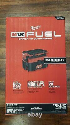 Milwaukee 0970-20 M18 Fuel Packout 2.5 Gallon Wet/dry Aspirateur Nettoyant