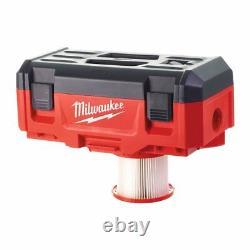 Milwaukee M18 Vc2 Nettoyeur À Vide Humide/sec Naked 4933464029