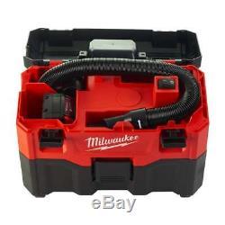 Milwaukee M18vc2-0 De Vac Sans Fil Wet Dry Vaccum Next Gen Nu Unité