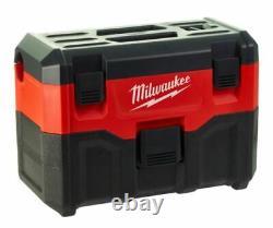 Milwaukee M18vc2 18v Aspirateur Humide Et Sec Corps De 2e Génération Seulement 4933464029