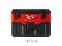 Milwaukee M18vc2 De Aspirateur Sec Et Humide 2ème Génération Unité Bare