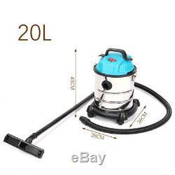 Multiclean Humide Et Aspirateur Sec 3000w Vac 30/50 / 80l Garage Nettoyage Auto