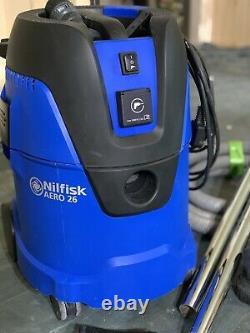 Nilfisk Aero 26-21 Pc GB 1250w 25ltr Wet Dry Vacuum Dust Extractor 230v