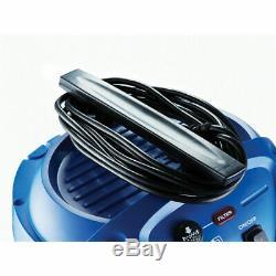 Nilfisk Multi LL 30t Aspirateur Pour Déchets Secs Et Humides 1400w Alimentation Bleu 220v 240v