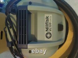 Nilfisk Vl100 Aspirateur Flambant Neuf Wet & Dry Capacité Du Conteneur 35 L
