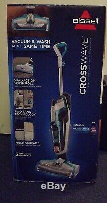 Nouveau Bissell Crosswave Bleu Multi-surface Aspirateur