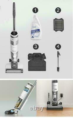 Nouveau Tineco Ifloor3 Cordless Hard Floor Cleaner Wet Dry Vacuum Silver Expédie Maintenant
