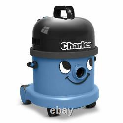 Numatic Charles Cvc370-2 Aspirateur Hoover Wet & Dry 3 En 1 Bleu