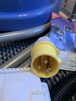 Numatic Charles Cvc370 Wet & Dry Vac Bleu A21a Kit 110v Site Vide Derby
